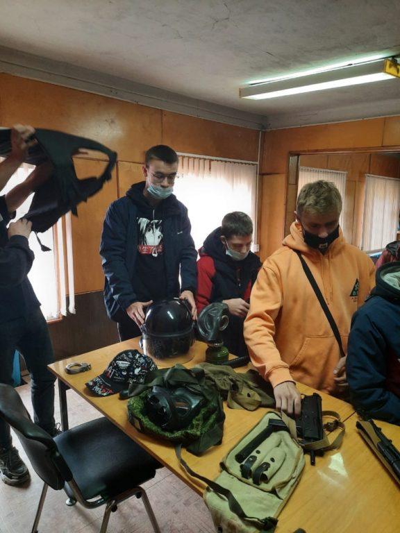 В ОМВД России по Виноградовскому району прошла неделя открытых дверей